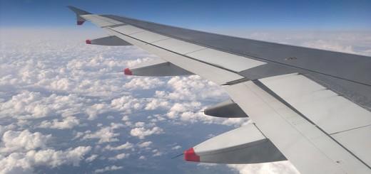 Kurzgeschichte im Flugzeug