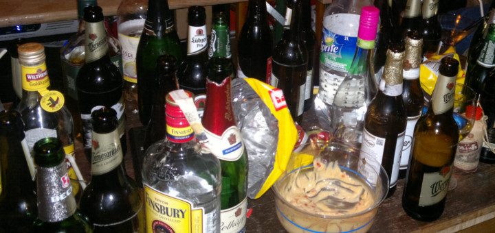 Party Kurzgeschichte